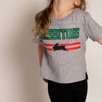 Infant Rabbitohs Heather Tee1