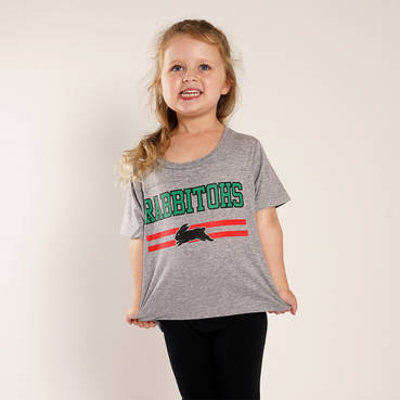 Infant Rabbitohs Heather Tee