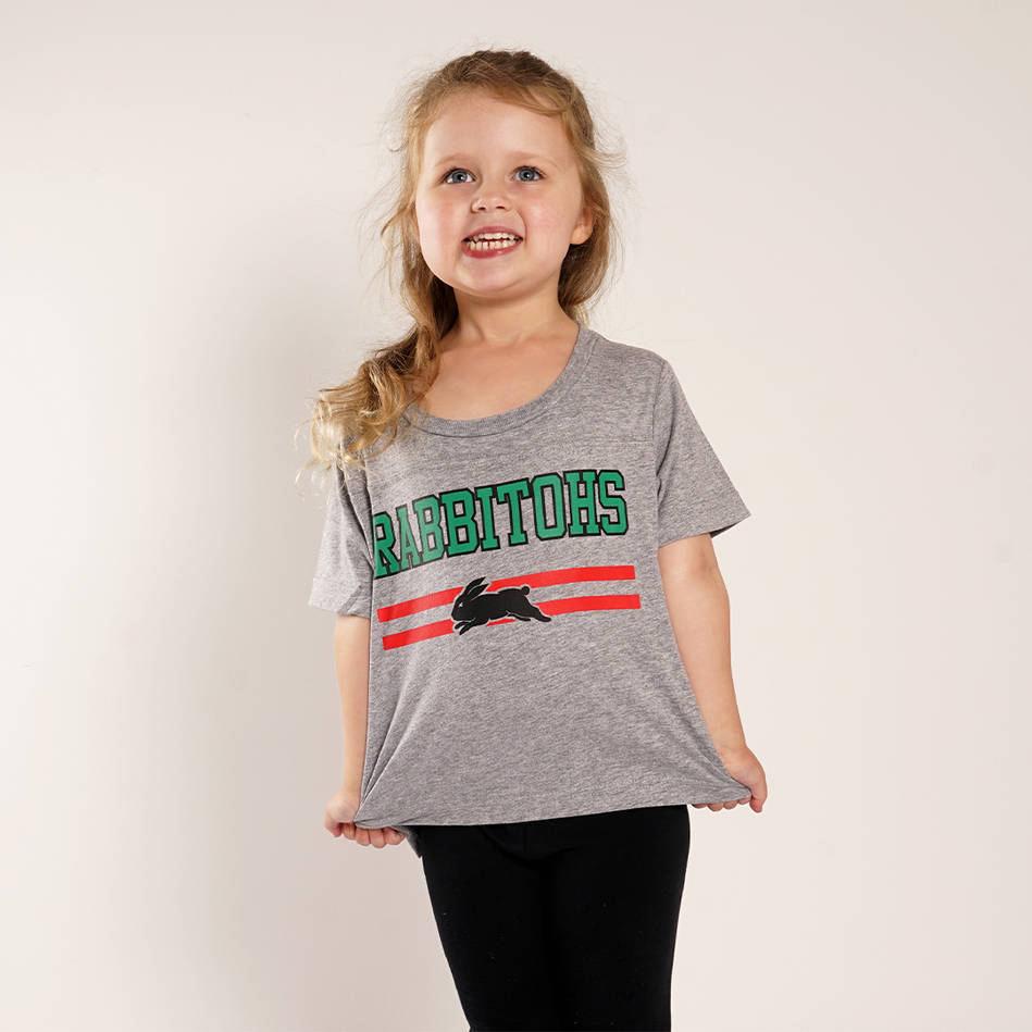 Infant Rabbitohs Heather Tee0