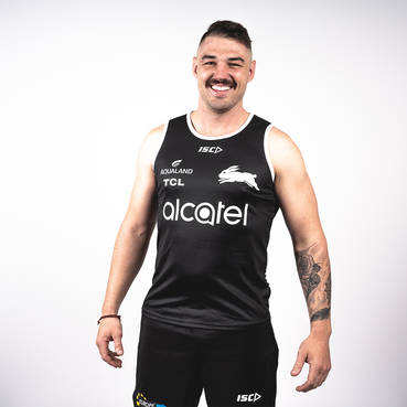 2020 Mens Black Training Singlet