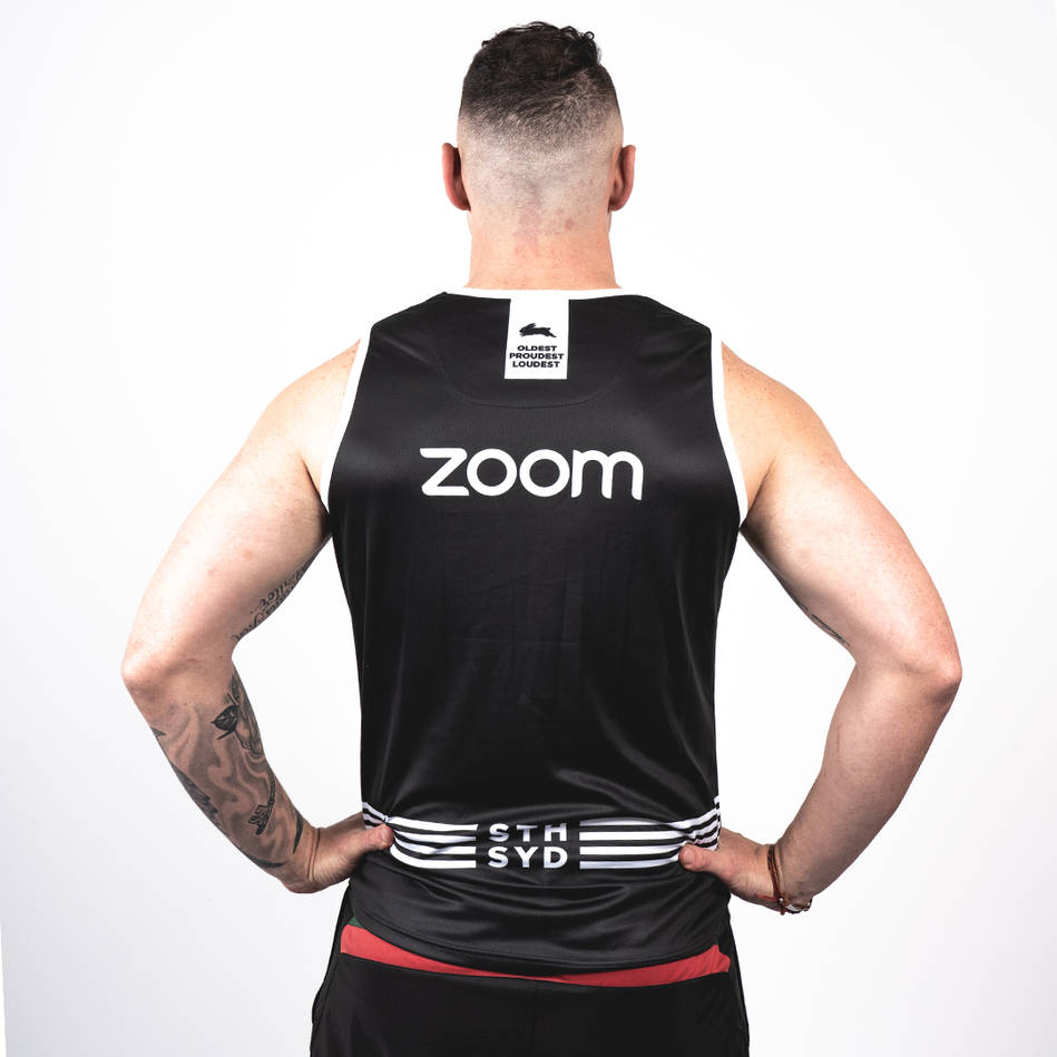 2020 Mens Black Training Singlet1