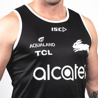 2020 Mens Black Training Singlet2