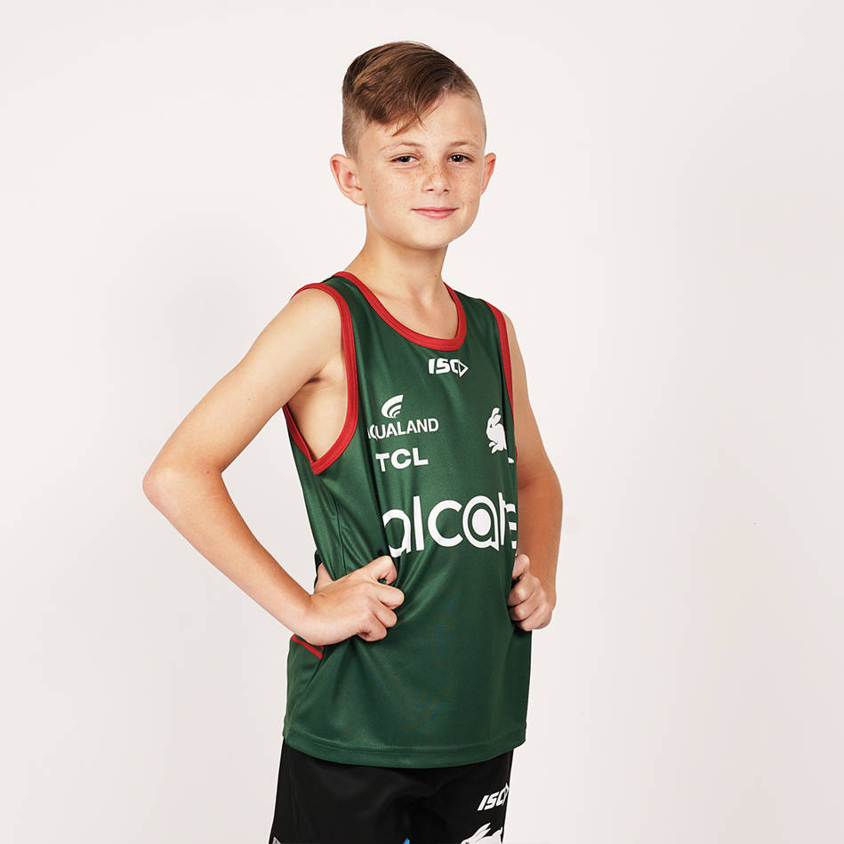 2020 Youth Green Training Singlet3