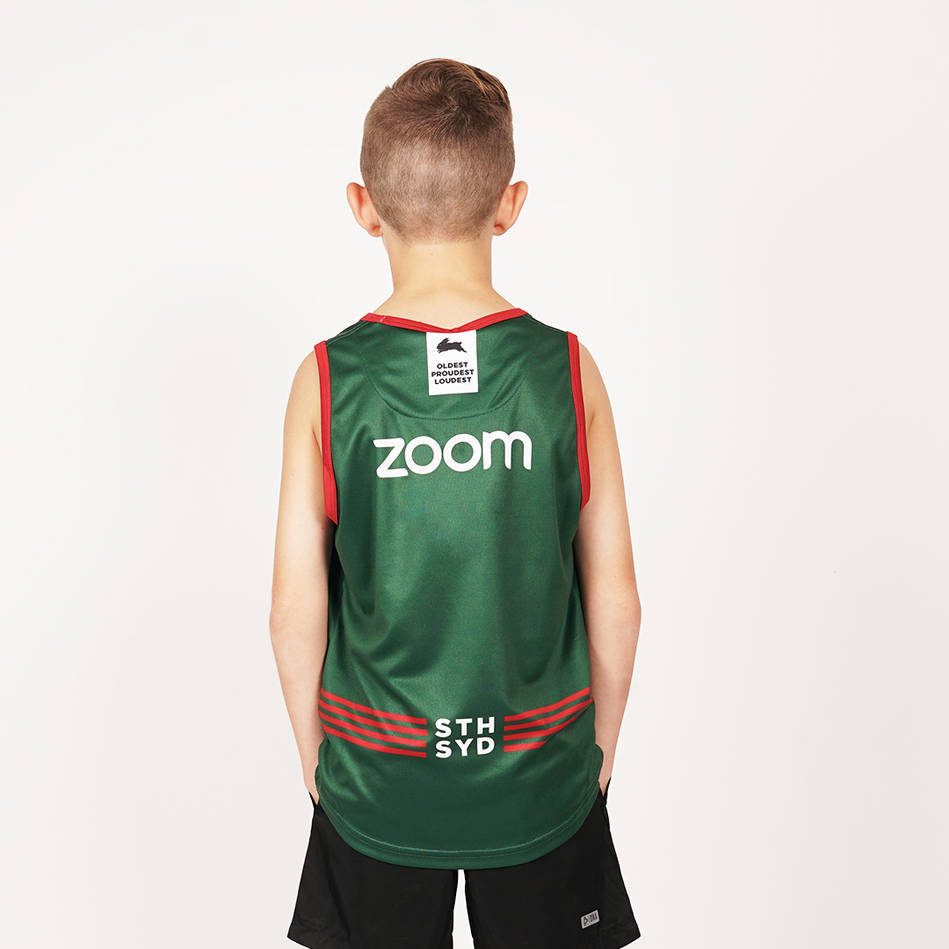 2020 Youth Green Training Singlet2