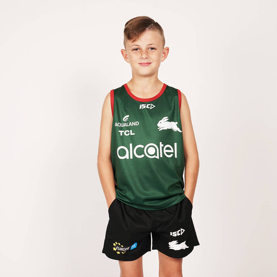 2020 Youth Green Training Singlet0