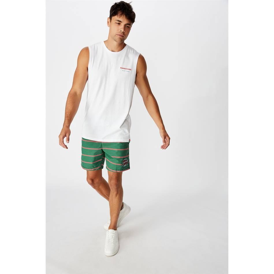 Mens Stripe Board Shorts1