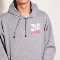 Grey Young Henrys Hoody0