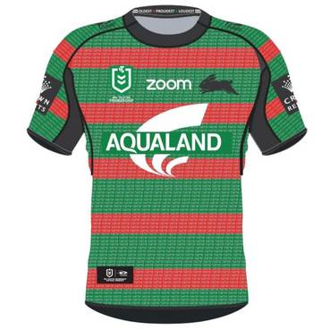 2019 Kids Green Warm Up Top