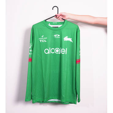 2021 Green L/S Training Tee
