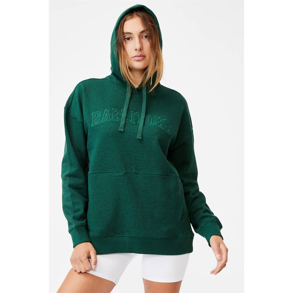 Womens Embroidered Pocket Hoodie0