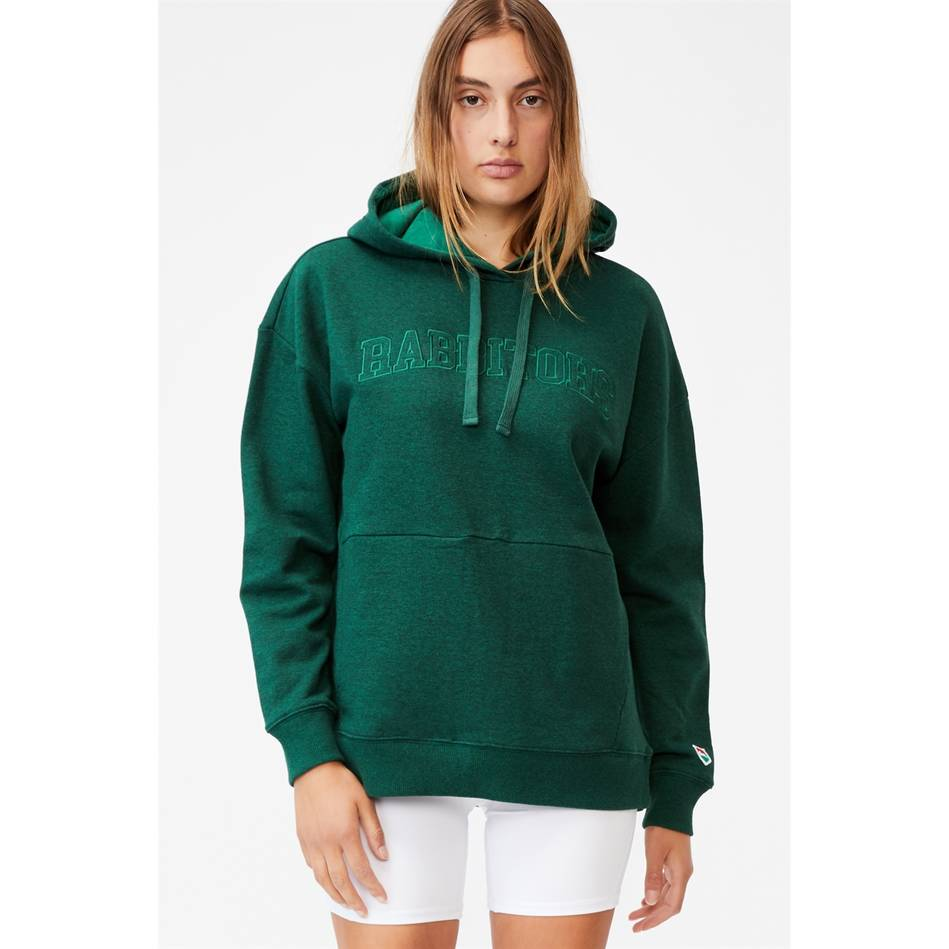 Womens Embroidered Pocket Hoodie1