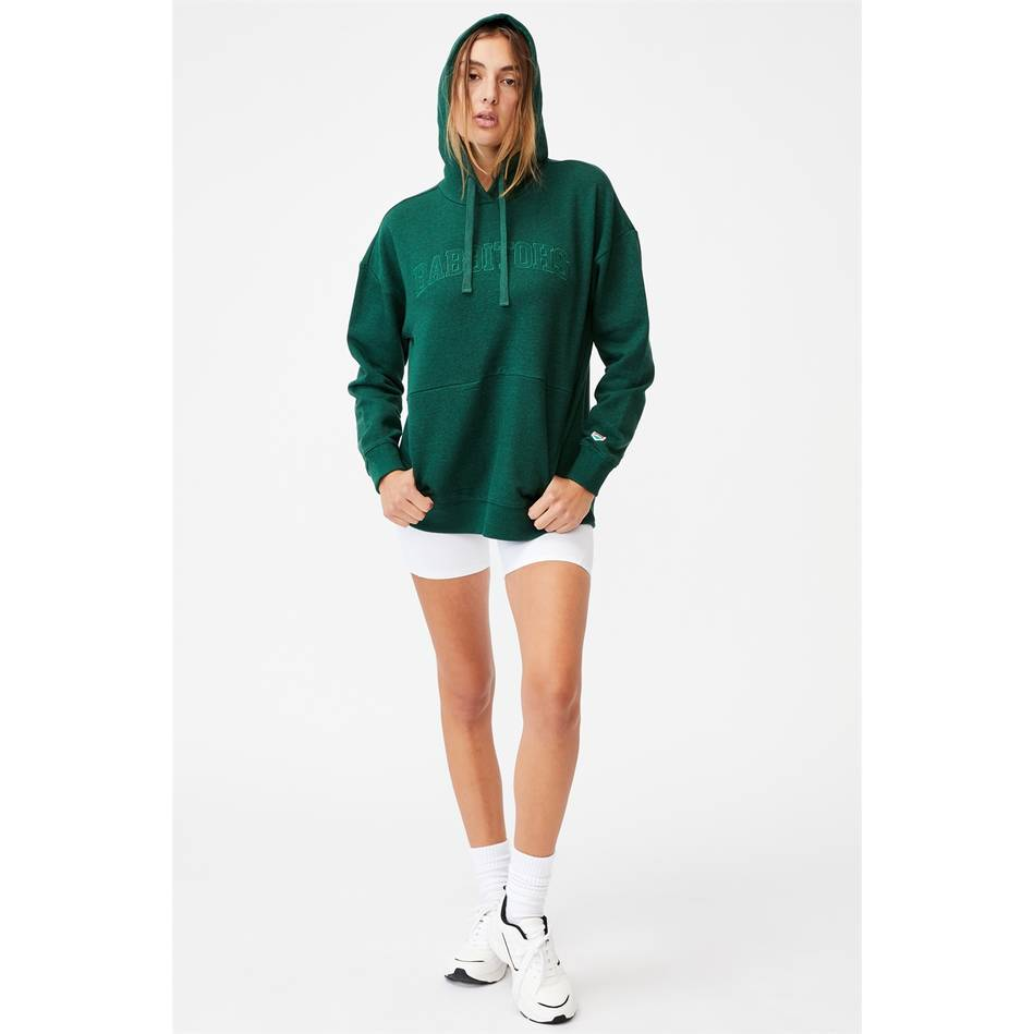 Womens Embroidered Pocket Hoodie2