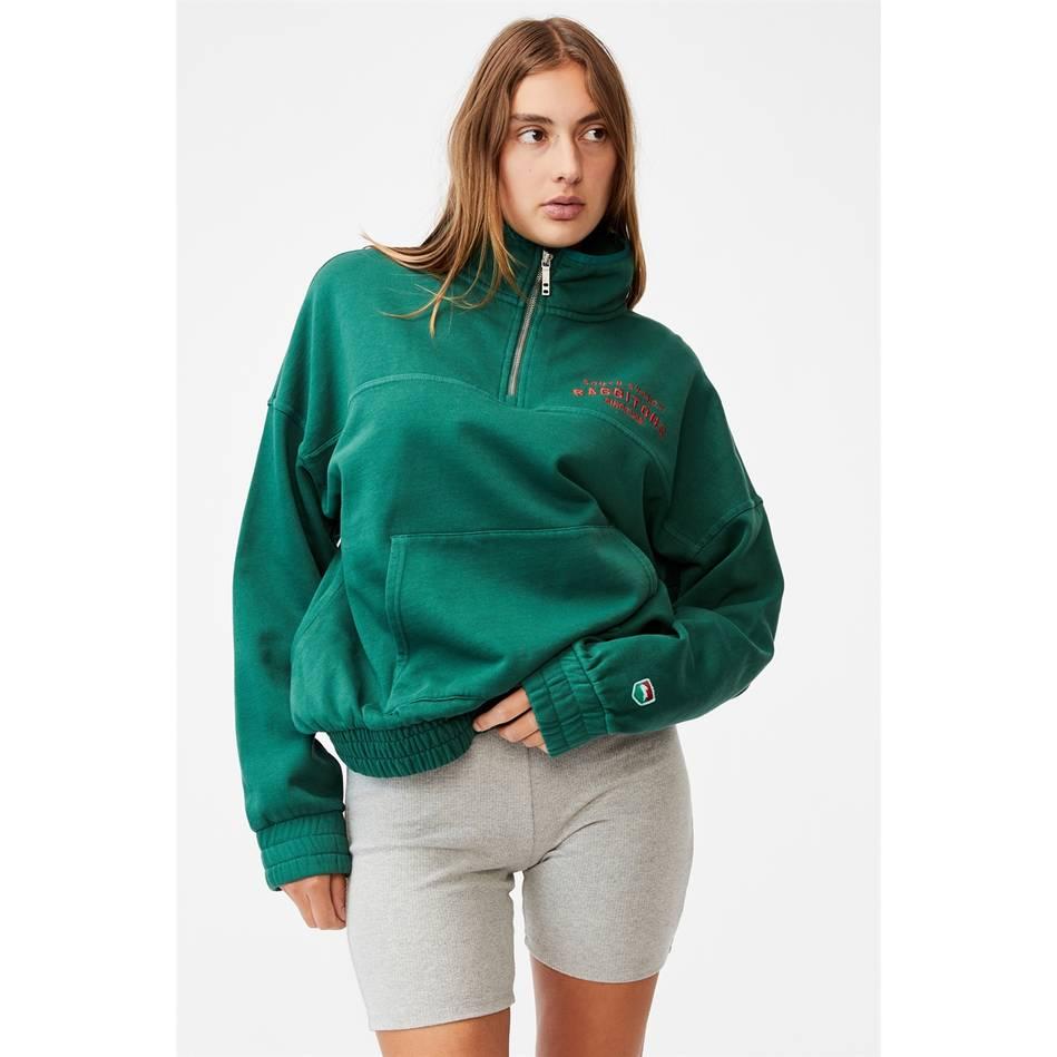 Womens Fleece 1/4 Zip2