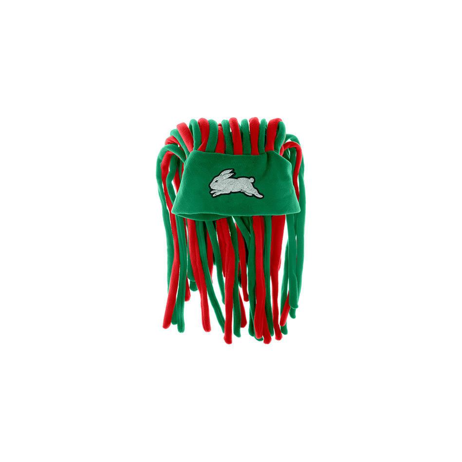 Rabbitohs Dreadlock Fun Hat1