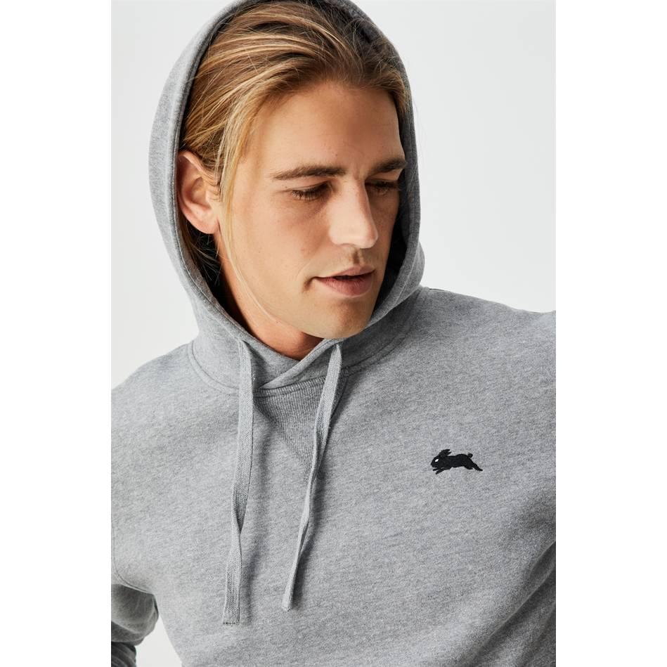 Essential  Grey Fleece Hoodie1