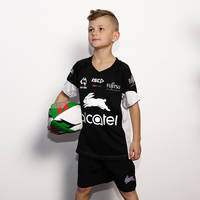 2017 Kids Black Training T-shirt1