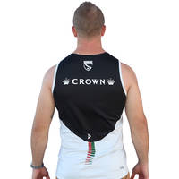 2017 Mens Black Training Singlet2