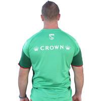 2017 Mens Green Training T-shirt2