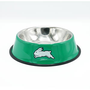 Rabbitohs Large Pet Bowl 22cm