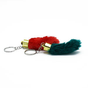 Lucky Rabbits Foots Keyring