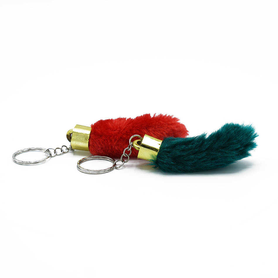 Lucky Rabbits Foots Keyring0