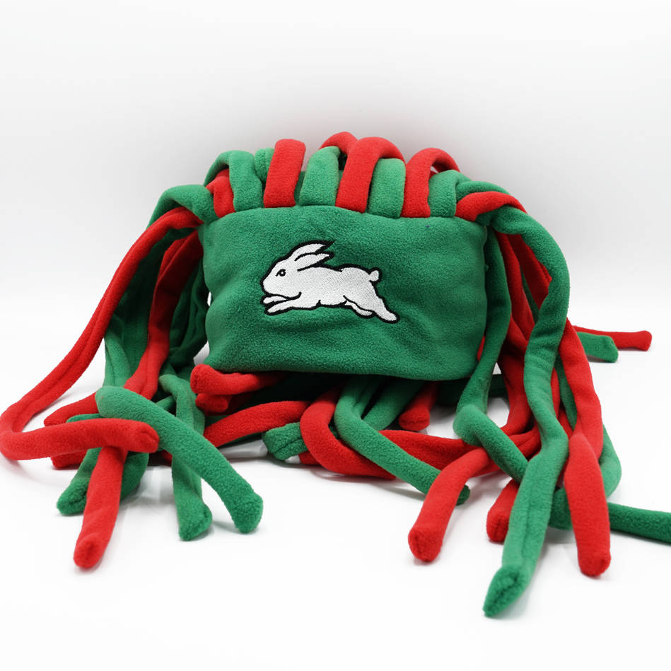 Rabbitohs Dreadlock Fun Hat0