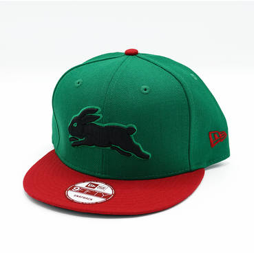 New Era Green Black Bunny Snapback