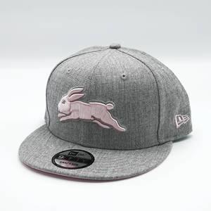 New Era Grey Pink Snapback