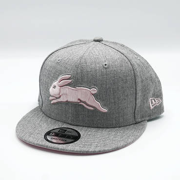 New Era Grey Pink Snapback