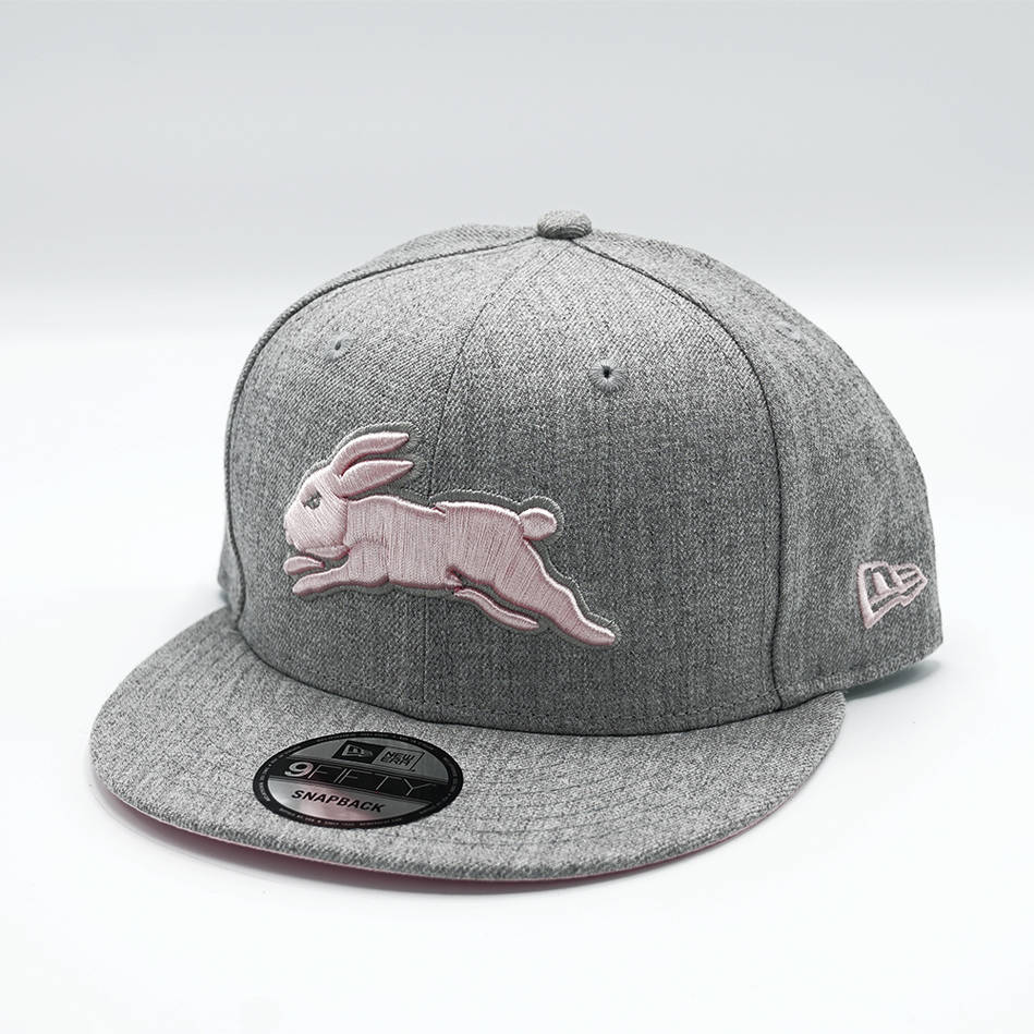 New Era Grey Pink Snapback0