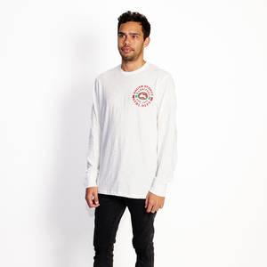 Mens 47 White Longsleeved T-shirt