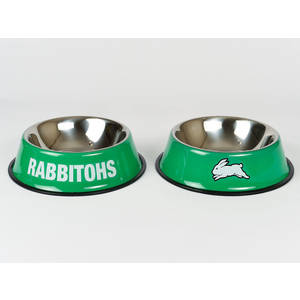 Rabbitohs Small Pet Bowl 15cm