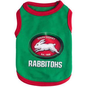 Rabbitohs Pet T-shirt (XS)