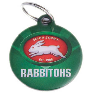 Rabbitohs Pet ID Tag