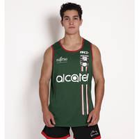 2018 Mens Green Training Singlet0