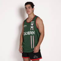 2018 Mens Green Training Singlet3