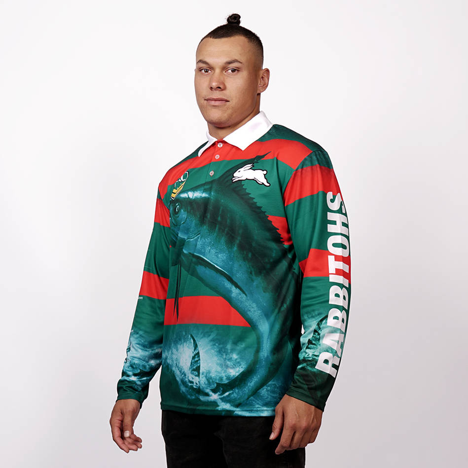 mainRabbitohs Fishing T-shirt2
