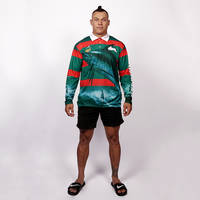 Rabbitohs Fishing T-shirt3