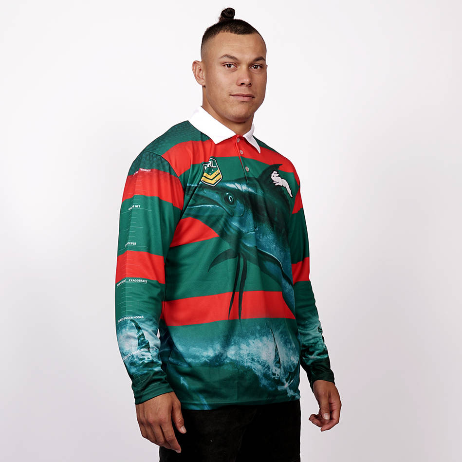mainRabbitohs Fishing T-shirt0