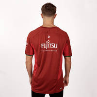 2018 Mens Red Training T-shirt2