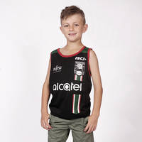 2018 Youth Black Training Singlet0
