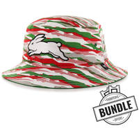 Camo Bucket Hat & Ticket Bundle0