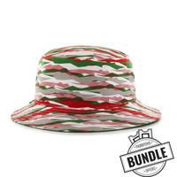 Camo Bucket Hat & Ticket Bundle1